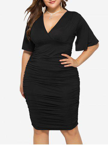 5f661e8bdeb Black Empire Waist Dress - Free Shipping