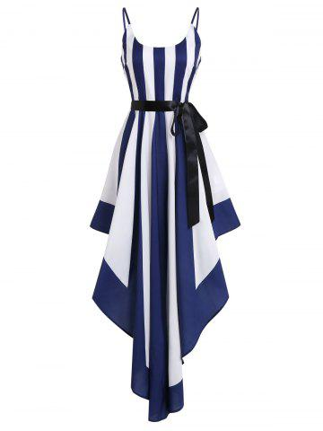 Cami Two Tone Dress With Belt