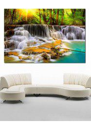 Home Decor Waterfall Print Canvas Painting -