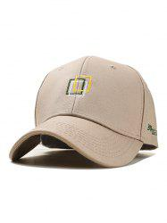 Icon Decoration Cotton Baseball Hat -