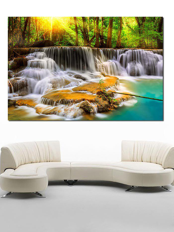 Store Home Decor Waterfall Print Canvas Painting