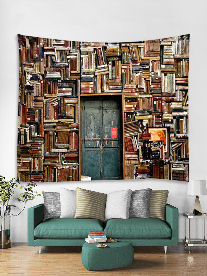 Affordable Bookshelf House Print Tapestry Wall Hanging Art Decoration