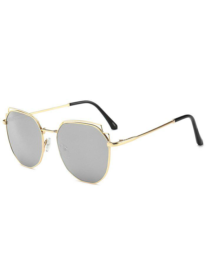 beec6ab05 43% OFF] Colorful Design Alloy Frame Sunglasses | Rosegal