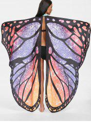 Butterfly Wing Beach Cover Up - Multi Taille Unique