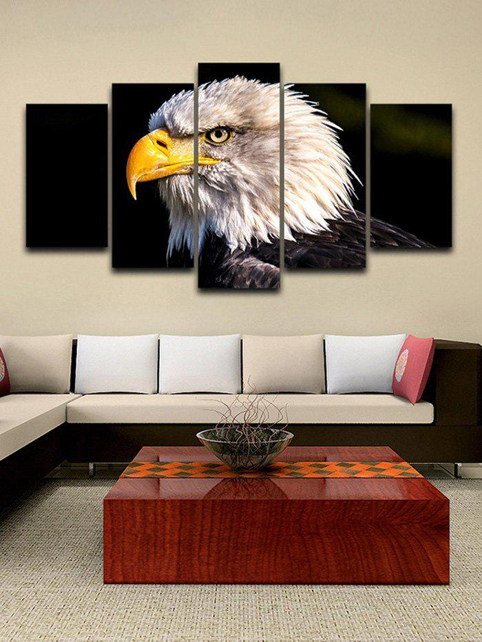 Discount Eagle Print Unframed Split Canvas Paintings