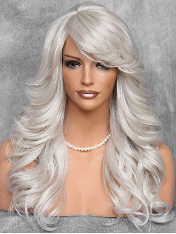 Side Bang Long Body Curly Synthetic Wig