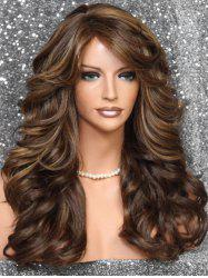 Side Bang Long Body Curly Synthetic Wig -