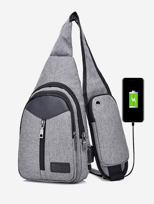 Outfits Pockets Waterproof Chest Sports Bag