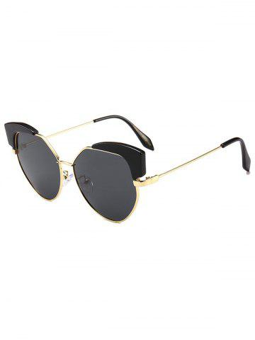 Catty Eye Irregular Vintage Sunglasses