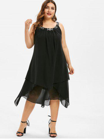 6d99b22d1dd Plus Size Trapeze Dress - Free Shipping