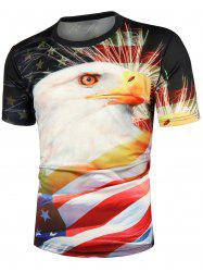 Eagle Pattern Casual T-shirt -