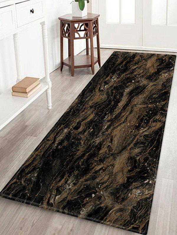 New Marble Patterned Water Absorption Area Rug