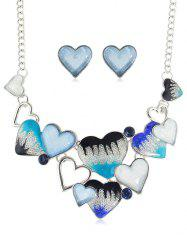 Shape Heart Chain Jewelry Set -