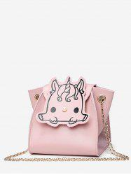 Unicorn Pattern Mini Chain Shoulder Bag -