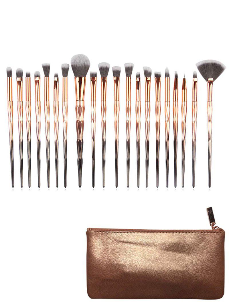 Latest Diamond Design 20Pcs Make Up Brush Bag Set