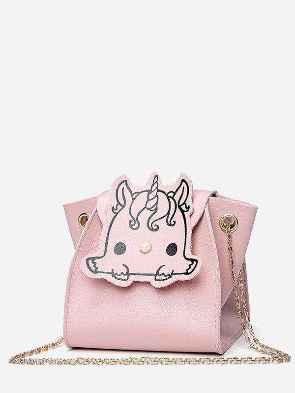 Outfit Unicorn Pattern Mini Chain Shoulder Bag