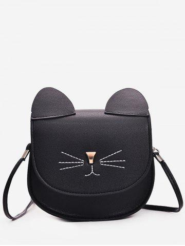 Cat Pattern Mini Cash Shoulder Bag
