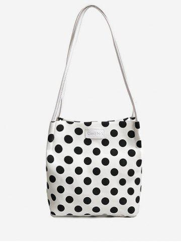 7cfa54c341 Print Polka Dot Shoulder Bag