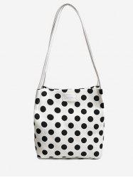 Print Polka Dot Shoulder Bag -