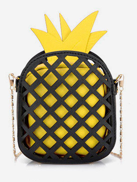 Outfit Stylish Crossbody Chain Pineapple Shape Shoulder Bag