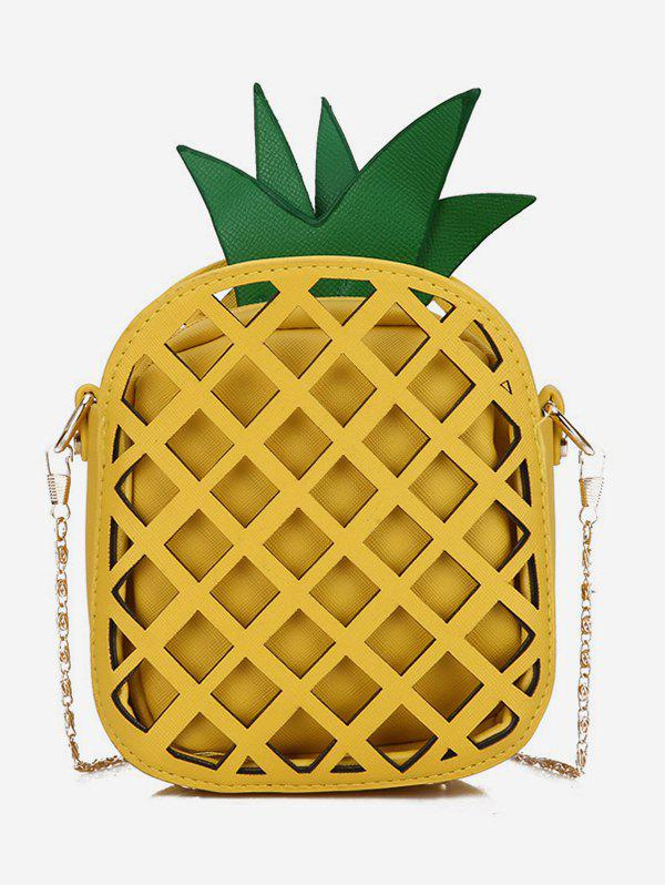 Discount Stylish Crossbody Chain Pineapple Shape Shoulder Bag