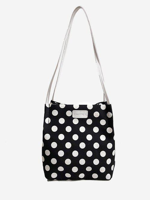 Store Print Polka Dot Shoulder Bag