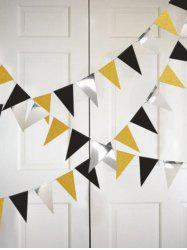 1 PC Triangle Pattern Party Decorations -
