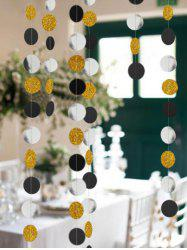 1 PC Round Pattern Party Banner -
