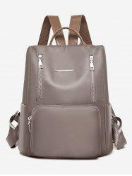 Simple Design Large Capacity Backpack -
