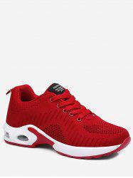 Knit Mesh Running Sneakers -