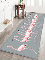 Flamingos Pattern Floor Rug -