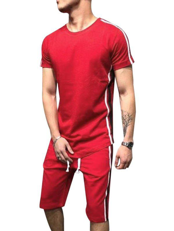 Casual Style T-shirt and Shorts