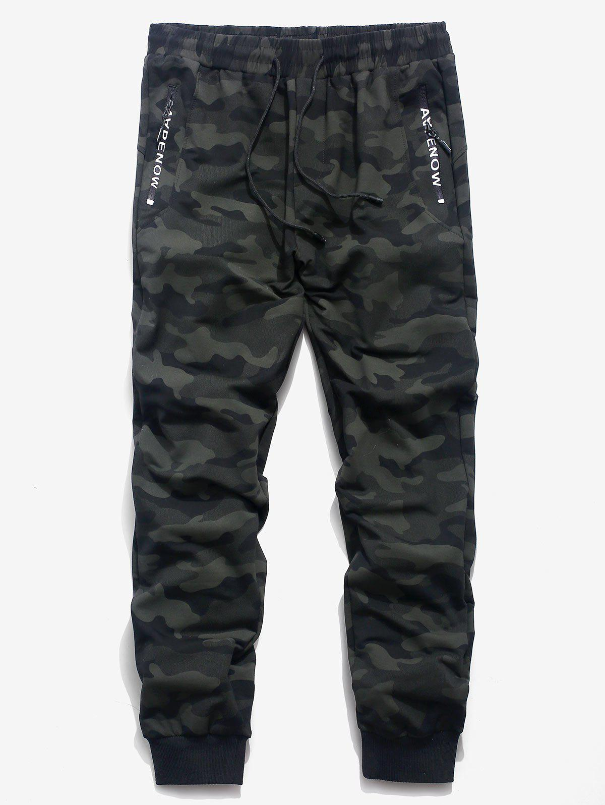 Discount Camouflage Design Casual Jogger Pants