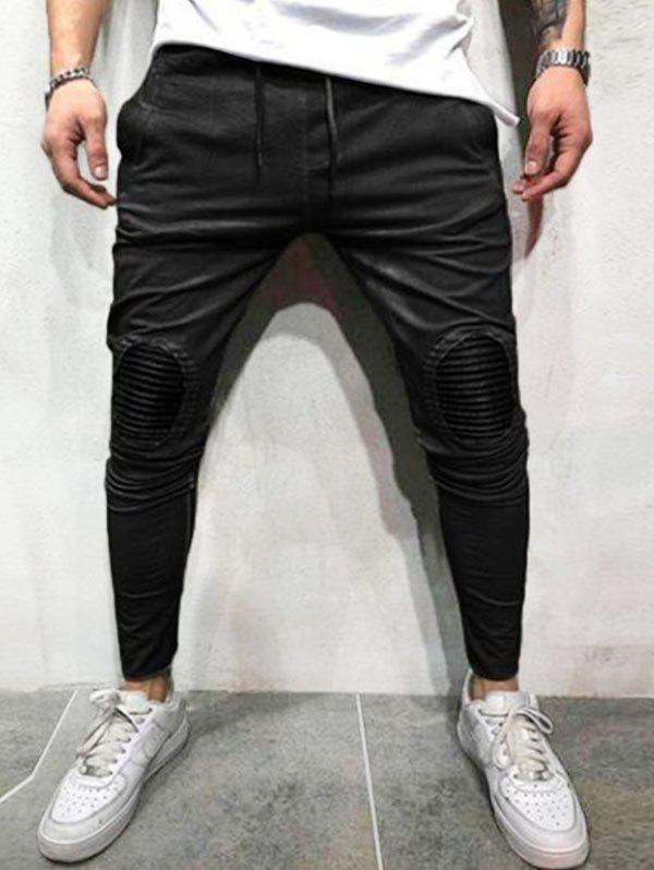 Buy Patchworks Decoration Casual Jogger Pants