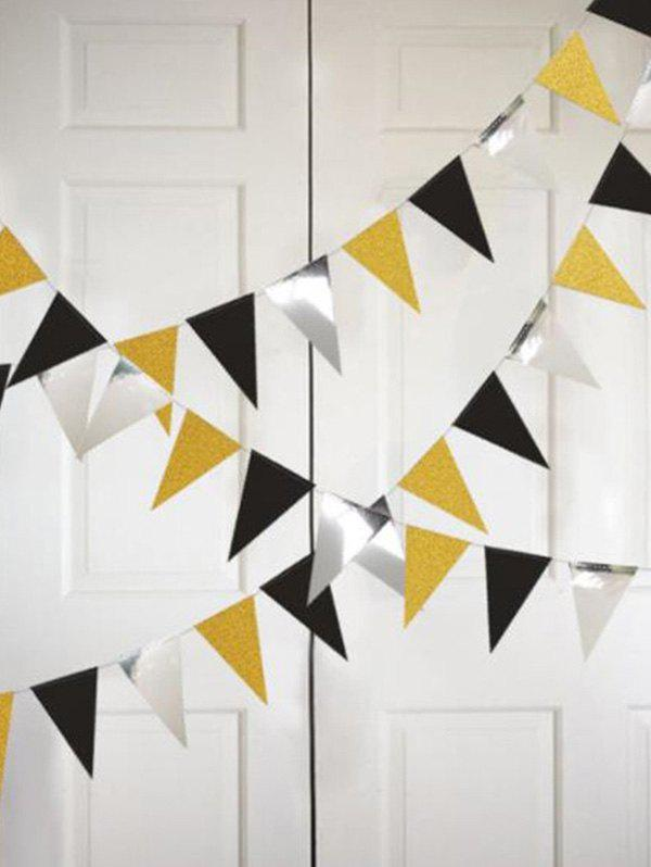 Latest 1 PC Triangle Pattern Party Decorations