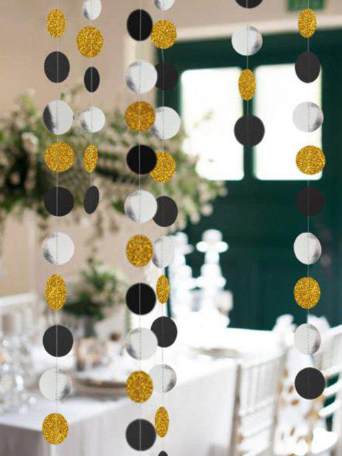 Trendy 1 PC Round Pattern Party Banner