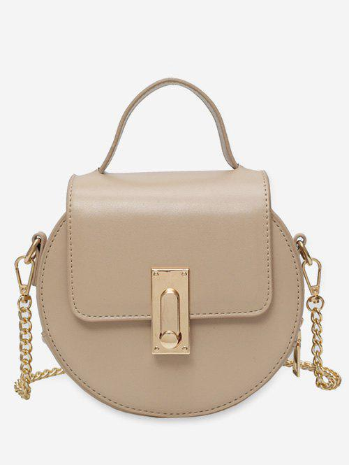 Outfit Round Shape Chain Strap Crossbody Bag