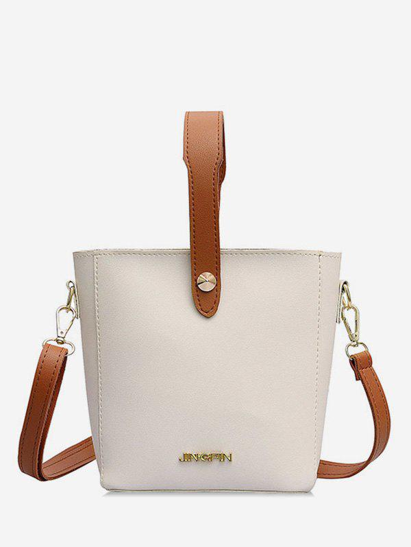 Shop Leather Casual Solid Shoulder Bag