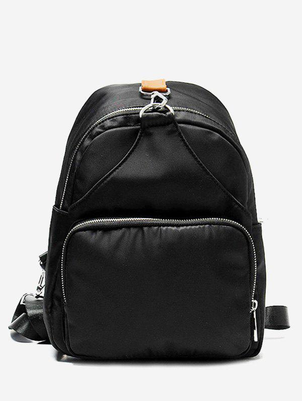 Outfits Solid Color Design Backpack