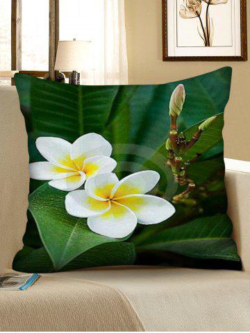 Flowers Printed Decorative Pillowcase