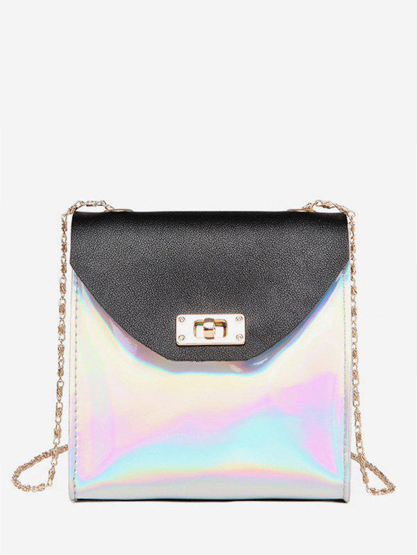 Sale Two Tone Chain Shoulder Bag
