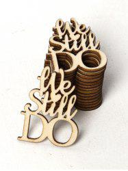 15PCS We Still Do Sign Wooden Decoration -