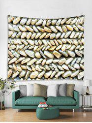 3D Stone Wall Tapestry Art Decoration -
