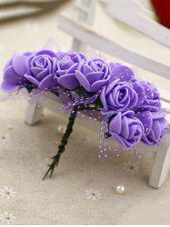 Home Decoration 140 Pcs DIY Artificial Rose Flowers -