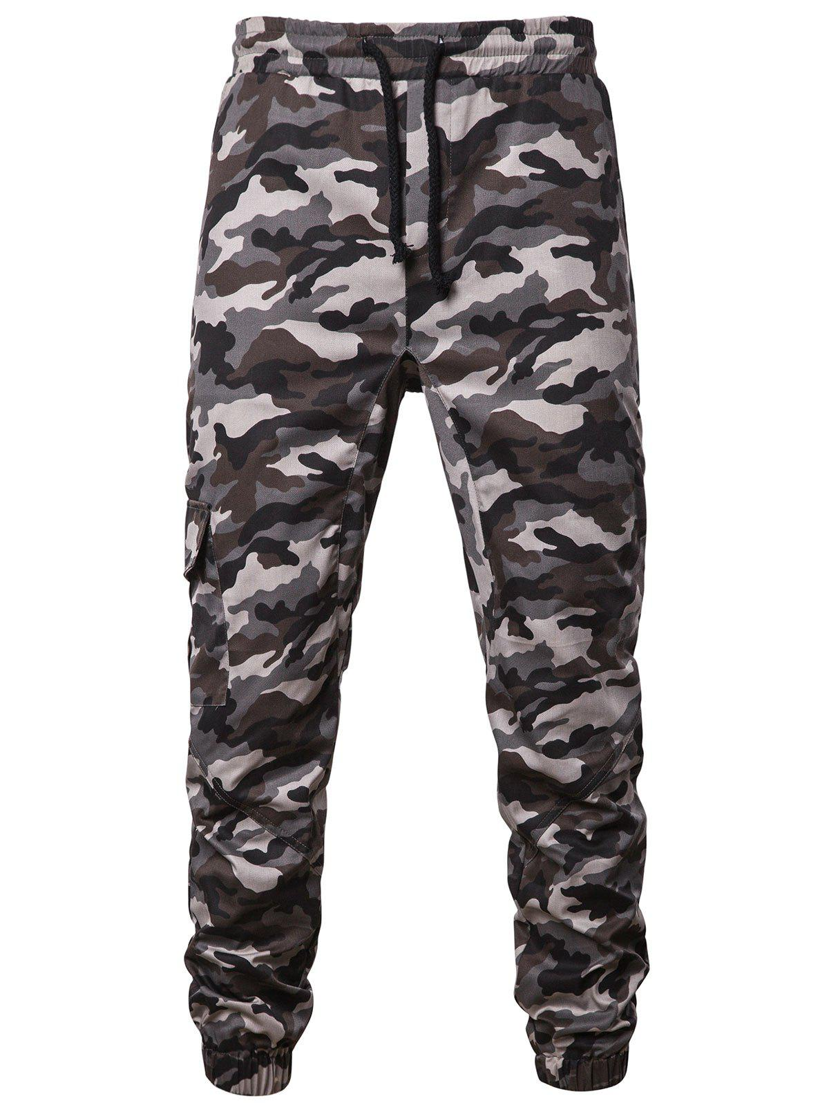 Hot Camouflage Pattern Jogger Pants