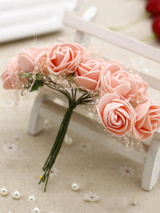New Home Decoration 140 Pcs DIY Artificial Rose Flowers
