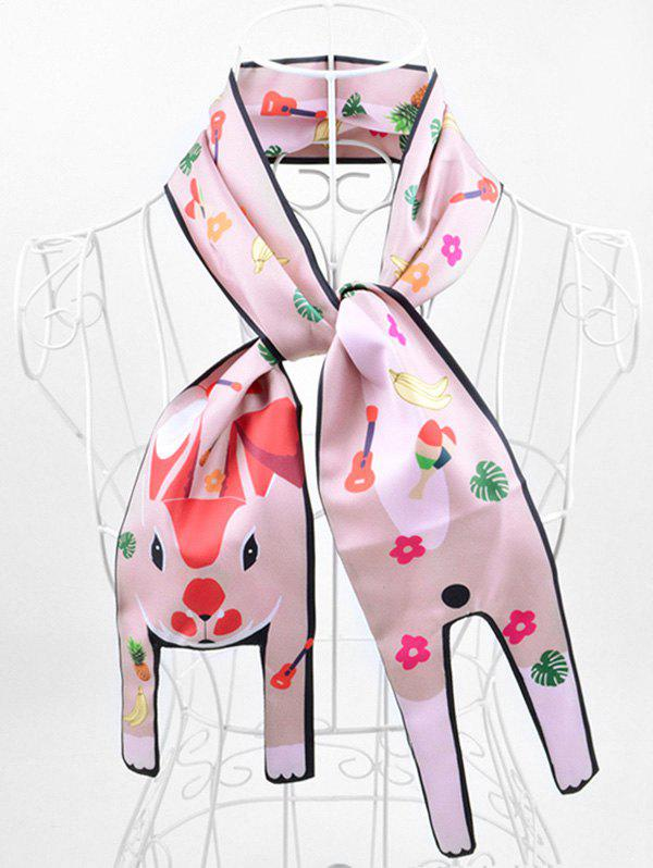 New Two Layers Animal Print Neck Scarf