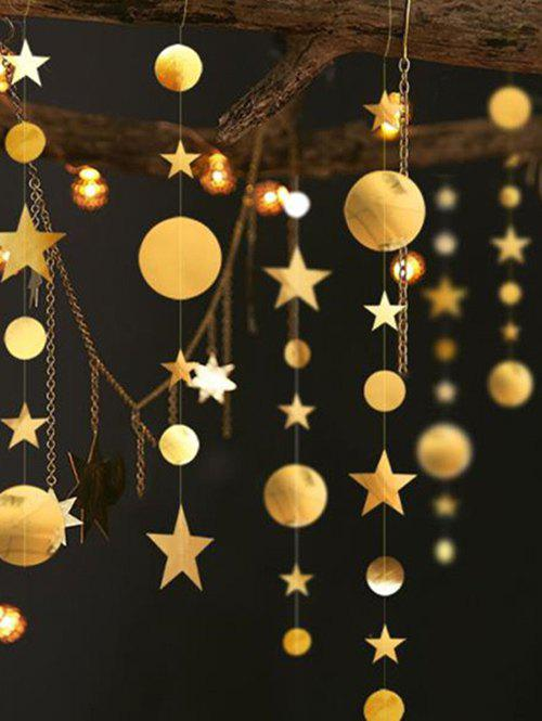 Fancy 1 PC Star and Round Pattern Party Banner