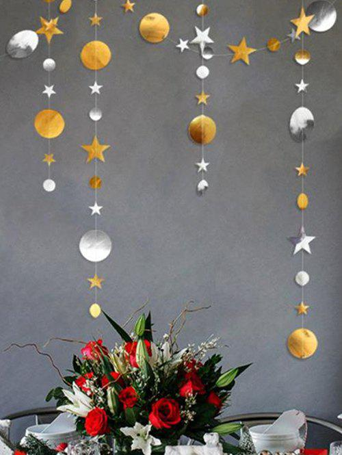 Cheap 1 PC Star and Round Pattern Party Banner