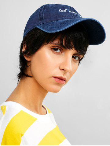 Embroidered Sporty Baseball Cap